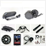 48V 500W Bafang 8fun Mid Crank Drive Motor Conversion Kits with LCD-TFT850C Display + 48V 12.5AH Down Tube TigerShark Frame Case iFunMobi Cell Battery with 5A Charger