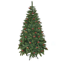 4ft elegant pre decorated artificial christmas tree xmas home decoration decor 120cm