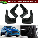 4pcs Front + Rear Car Mud Flaps Splash Guards Protective Fender Mudguards Mudflaps Mud Guards Custom Fit