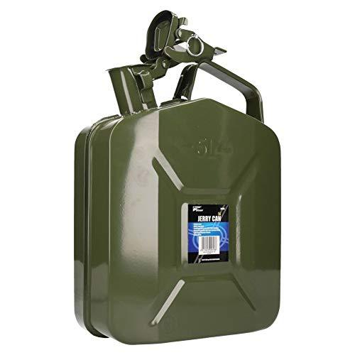 5 Litre Metal Fuel Jerry Can Holder Storage for Petrol Diesel Liquids Container