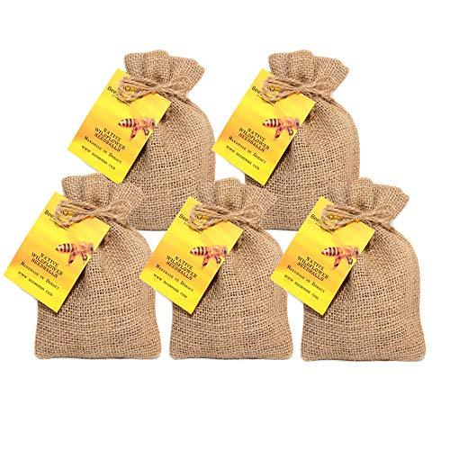 5 packs of native wildflower seedballs, handmade in Dorset. Bring the bees back.