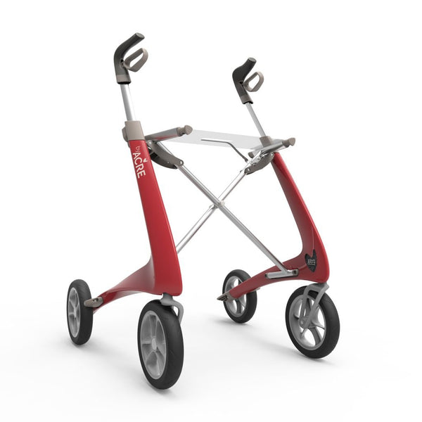 byACRE Carbon UltraLight Rollator (Red)