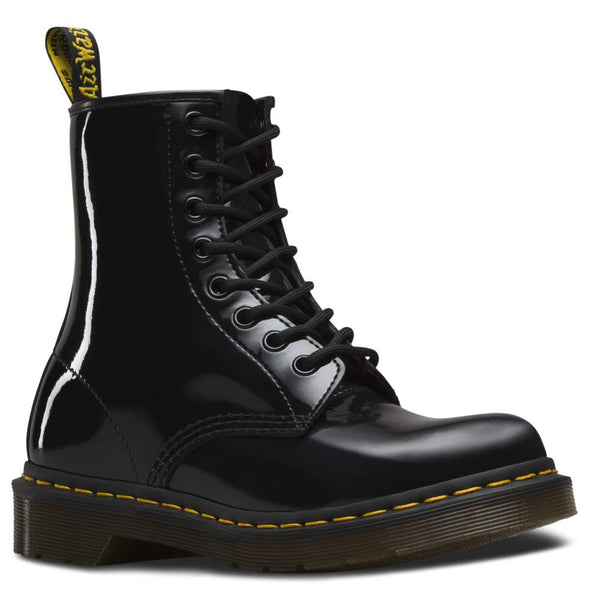 Dr. Marten's Original 1460 Patent, Women's Boots,  Black, 6 UK(39 EU)
