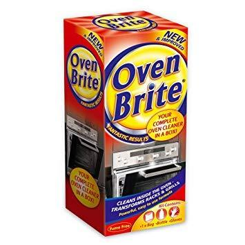 6 x Oven Brite - 500ML - Bottle Bag & Gloves Included - Complete Oven Cleaner 3-Pack