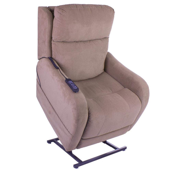 Pride Winchester Electric Riser and Recliner Mobility Chair 25 Stone max User Weight - Choice of Colours (Toffee)