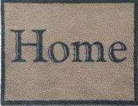 """65cm x 85cm (HUG RUG Home 12 Brown) THE BEST QUALITY Machine Washable, Dirt Trapper Door Mat"""