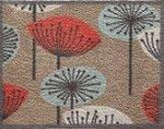 """65cm x 85cm (HUG RUG Nature 11 Coloured Flowers) THE BEST QUALITY Machine Washable, Dirt Trapper Door Mat"""