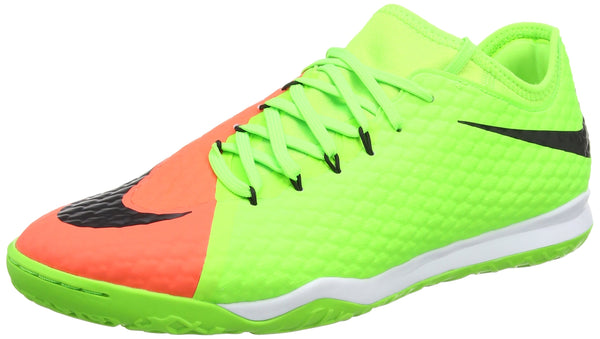 Nike Men's Hypervenomx Finale II IC Football Boots, Green (Electric Green/Black-Hyper Orange-Bright M), 8.5 UK 43 EU