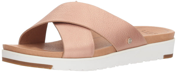 UGG - Sandals Kari Metallic 1092669 - Rose Gold, Size:8 UK