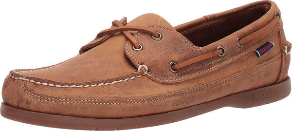 Sebago Men's Schooner Boat Shoe, Brown Tan, 7.5 UK
