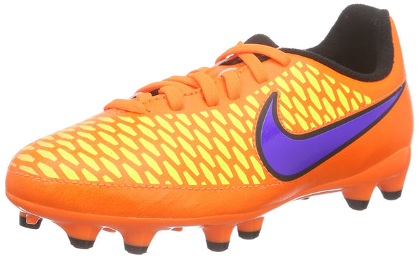 Nike Hypervenom Phelon Ii Fg, Boys'  Football Training Shoes, Orange (Orange/Purple), 1.5 UK (33.5 EU)