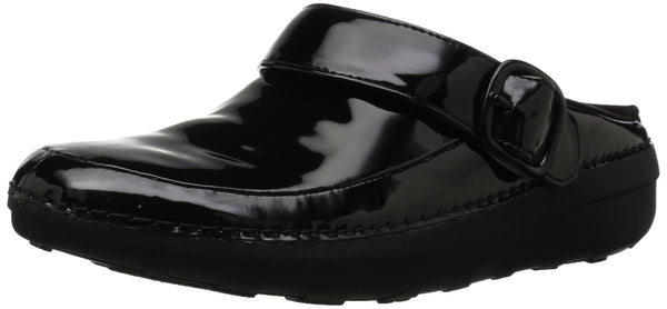 Fitflop Women Gogh Pro Superlight-Patent Clogs, Black (Black 001), 9 UK (43 EU)