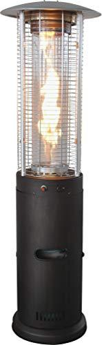 "73"" Bronze Colored Outdoor Patio Tower Rapid Induction Heater"