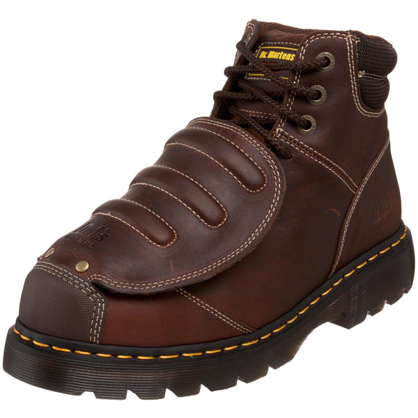 Dr. Martens Mens Ironbridge Mg 8 Tie Met Guard Boot, UK: 9 UK, Teak
