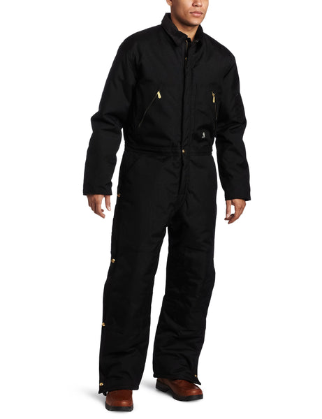 Carhartt Men's Arctic Quilt Lined Yukon Coverall X06 - Black - 40 Short