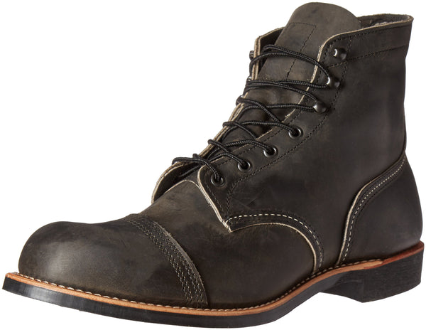 Red Wing Iron Ranger Mens Boots Charcoal - 11 UK