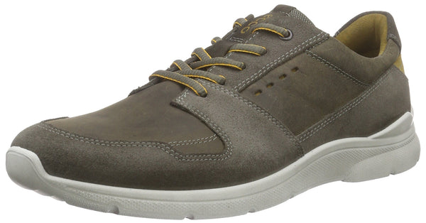 Ecco ECCO IRONDALE, Men's Low-Top Sneakers, Green (WARM GREY/TARMAC55911), 12 UK ( 47 EU)