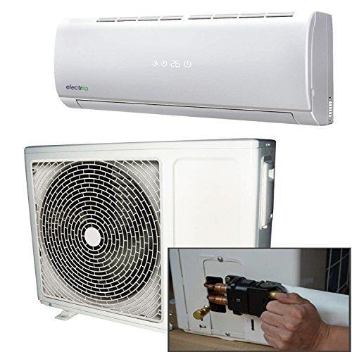 9000 BTU Panasonic Powered Quick Connector Wall Mounted DC Inverter Air Conditioner with 4 metres pipe kit - Wall Mounted Air Conditioning Unit with 5 years warranty