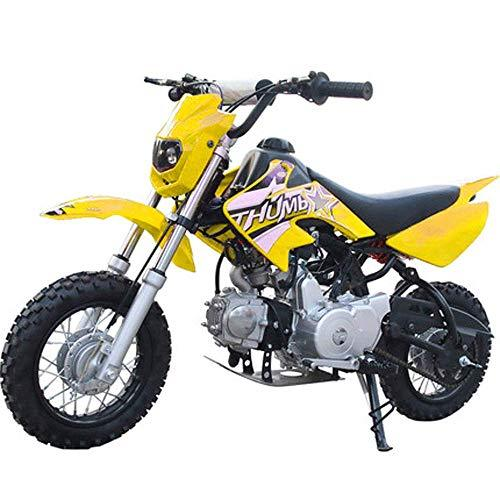 90GJ Mountain off-road motorcycle small mini 125CC two-wheel high racing motorcycle yellow non-road riding