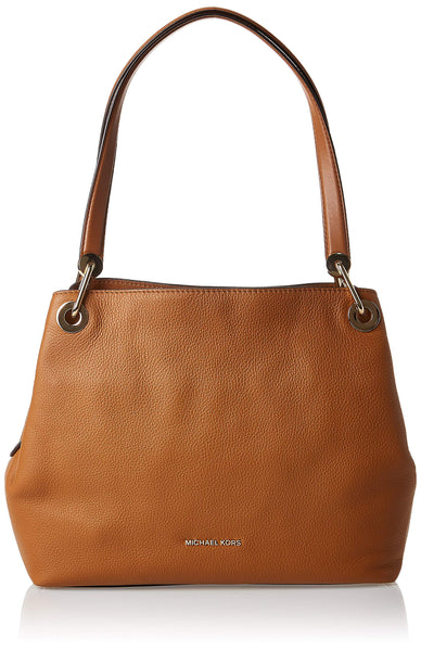 Michael Kors Womens Raven Tote Brown (Acorn)