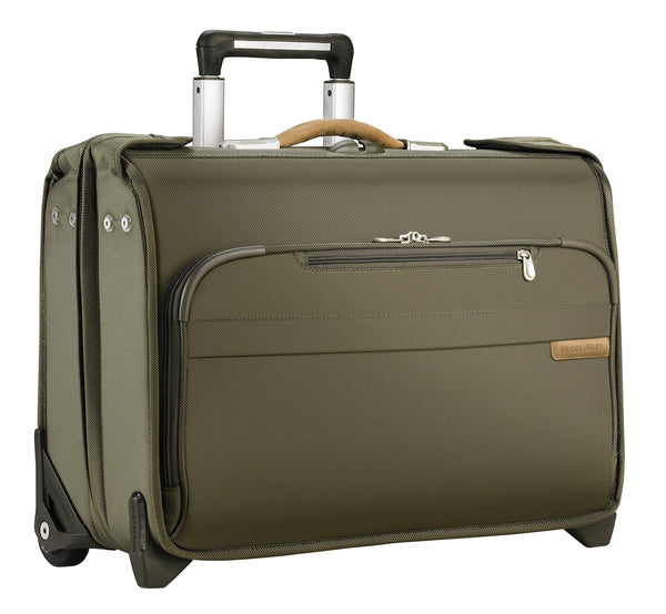 Baseline Carry-On Wheeled Garment Bag, 55cm, 48 litres, Olive