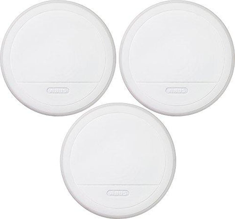 ABUS RM20 346613 Smoke Alarm 3-Piece Set Including Lithium Batteries