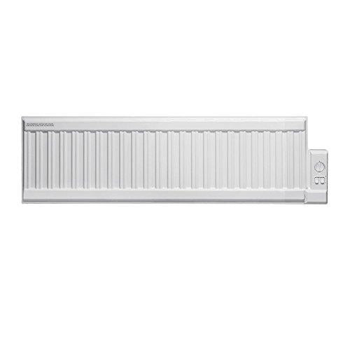 Adax ALO Oil-Filled Electric Radiator, Wall Mounted Skirting Wall Heater, Low Profile Thermostat. Buy Online From Solaire, Fast Delivery, 600W