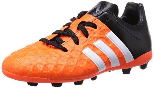 promo code 2b7f5 446b6 adidas Ace 15.4 FG, Boys' Football Boots, Orange - Orange (Solar  Orange/FTWR White/Core Black), 3.5 UK