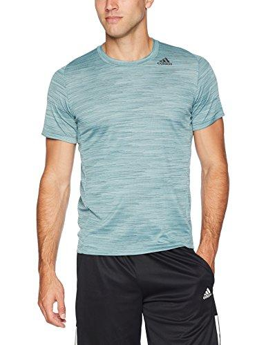 adidas Men's Training Ultimate Tech Tee Short Sleeve, Raw Green, Small
