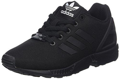 848e542a2 ... coupon code 4 uk adidas zx flux boys low top trainers black size 878d3  84aaa