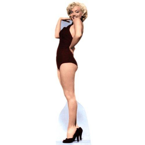 Advanced Graphics Marilyn Monroe Black Bathing Suit Lifesize Wall Decor Cardboard Standup Cutout Standee Poster
