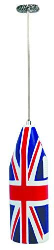 aerolatte Milk Frother with Storage Tube, Union Jack