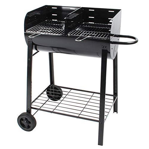 AFFC Large charcoal grill. Outdoor camping picnic backyard charcoal grill. Chef cooking stove.