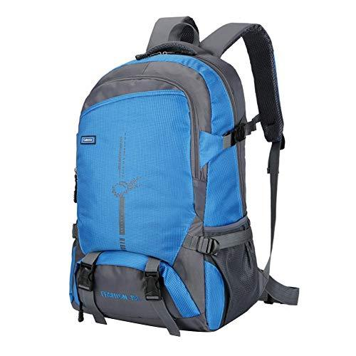 AFfeco Outdoor Climbing Backpacks Wear-resisting Travel Hiking Knapsack (Blue)