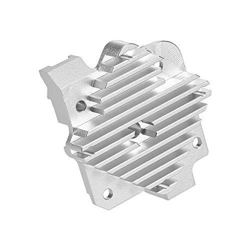 Aibecy 3D printer Parts V6 Hotend Heatsink Heat Sink for Titan Aero Extruder 3.0mm