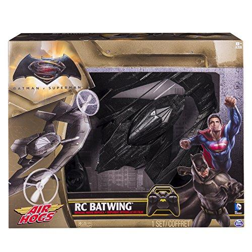 Air Hogs 6027403 Batwing Radio Controlled Plane Die-Cast Toy