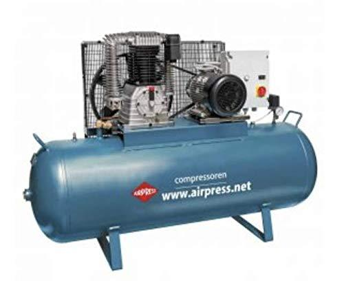 Airpress Compressed Air Piston Compressor 10 HP 500 L K500-1500S 36523-N Professional