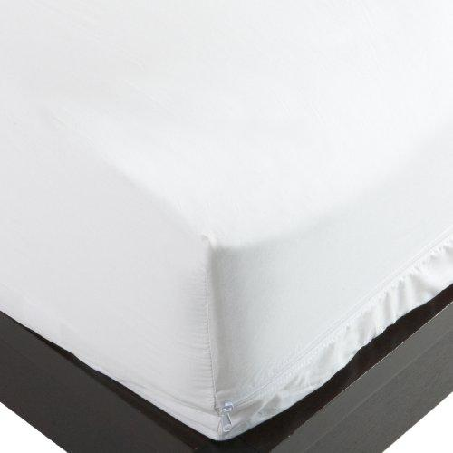 Allersoft 100-Percent Cotton Bed Bug, Dust Mite & Allergy Control Mattress Protector, Twin 12-inch