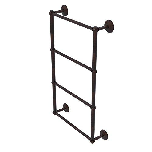 Allied Brass MC-28T-30-VB Monte Carlo Collection 4 Tier 30 inch Ladder Towel Bar with Twisted Detail