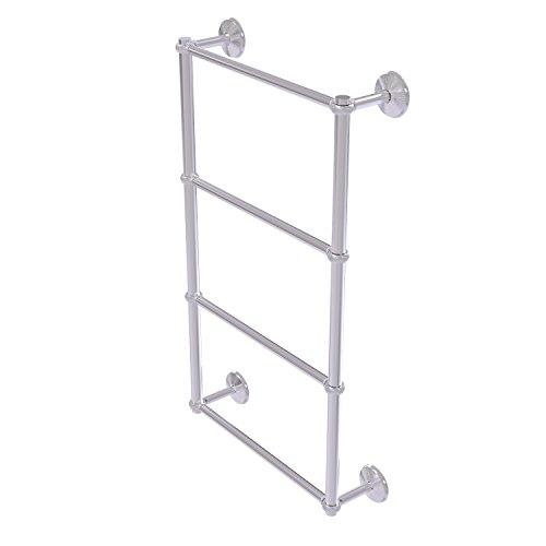 Allied Brass MC-28T-36-Sch Monte Carlo Collection 4 Tier 36 inch Ladder Towel Bar with Twisted Detail