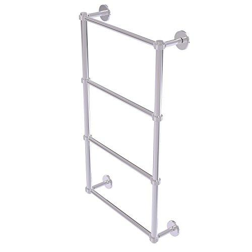 Allied Brass P1000-28G-30-PC Prestige Skyline Collection 4 Tier 30 inch Ladder Towel Bar with Groovy Detail