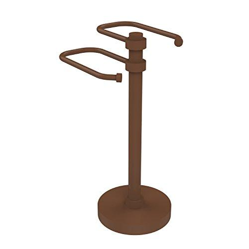Allied Brass TS-15-ABZ Free Standing Two Arm Guest Towel Holder,