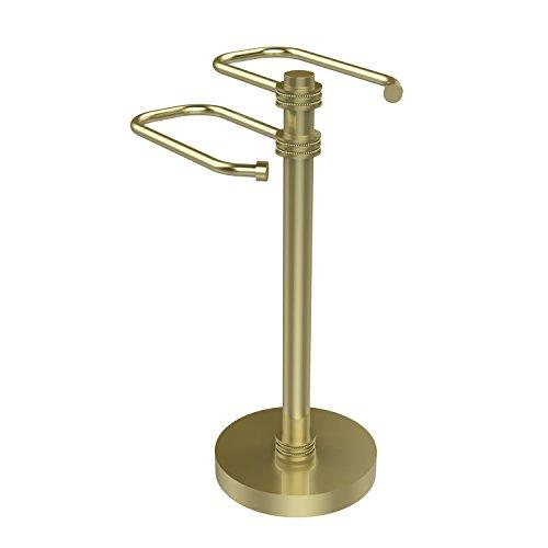 Allied Brass TS-15D-SBR Free Standing Two Arm Guest Towel Holder,