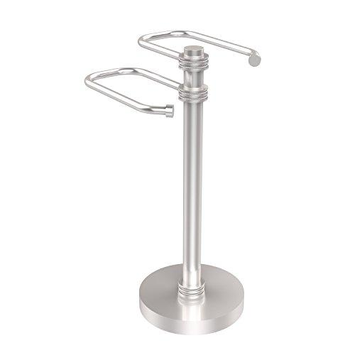 Allied Brass TS-15D-SCH Free Standing Two Arm Guest Towel Holder,