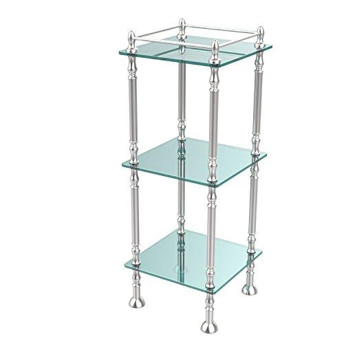 Allld|#Allied Brass ET-14X143TGL-SCH Three Tier Etagere with 14 Inch x 14 Inch Shelves,