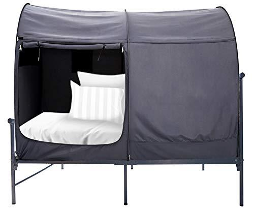 Alvantor Bed Canopy Bed Tents Dream Tents Privacy Space Twin Size Sleeping Tents Indoor Pop Up Portable Frame Curtains
