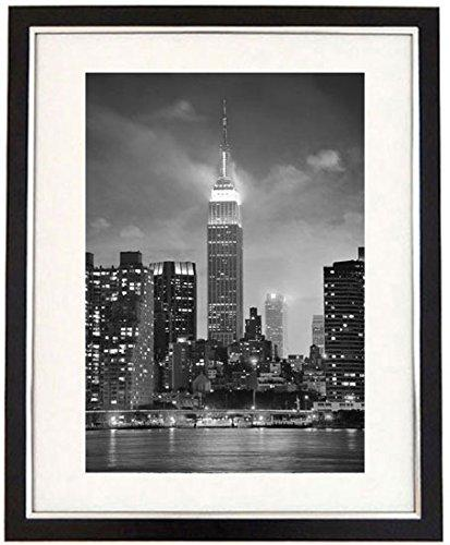 """American Architecture"" Framed Black & White Print Of A Cityscape Of Empire State Building New York City NYC. Cityscape Art & Photography Picture, B + W Prints"