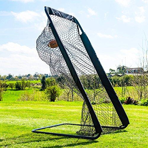 American Football Kicking Net | Kicking Training Accessory | Assemble in Minutes | Designed To Last For Seasons | Indoor & Outdoor Suitable [Net World Sports]