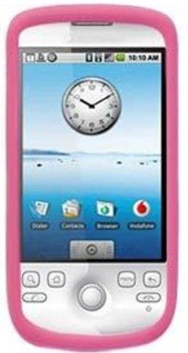 Amzer Silicone Skin Jelly Case For T-Mobile G2 - Baby Pink