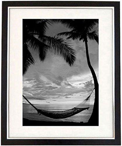 """An Idyllic Life"" Framed Black & White Print Of A View Of A Tropical Sunset. Seascape Art And Photography Picture, Black And White Prints"